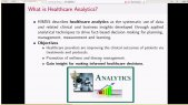 Webinar Part (1)  Big Data Analytics - Application on the Healthcare Domain