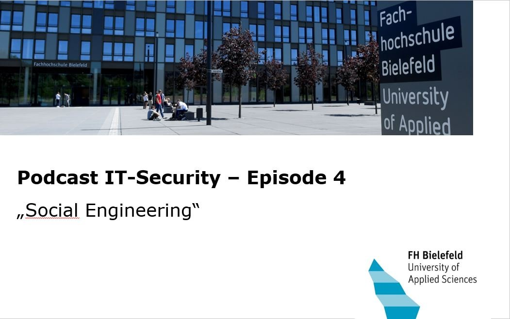 IT-Security Podcast Episode 4 Social Engineering