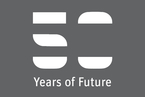 "Grafik mit dem Logo ""50 Years of Future"""